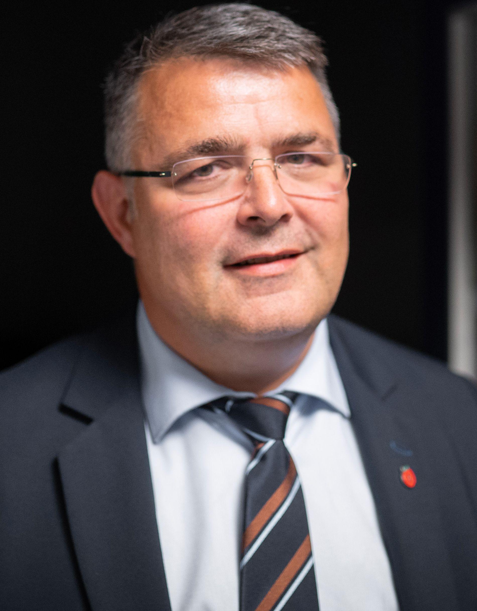 Olje- og energiminister Kjell-Børge Freiberg (Frp)