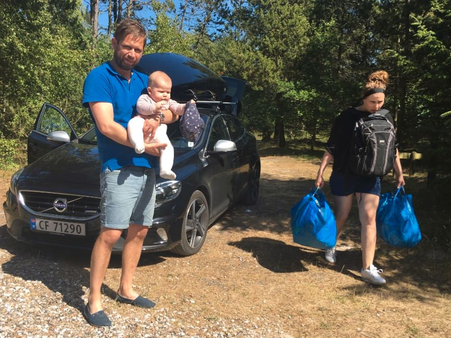 RETTFERDIGHET: Bæring er et likestillingsproblem, mener Anders Granholt Teien. I hans familie fordeles byrdene.