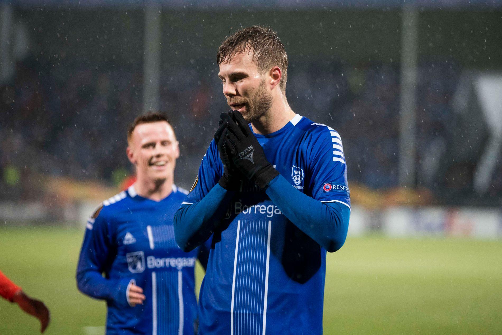 Det ble til slutt en fortvilende kveld for Patrick Mortensen og Sarpsborg.