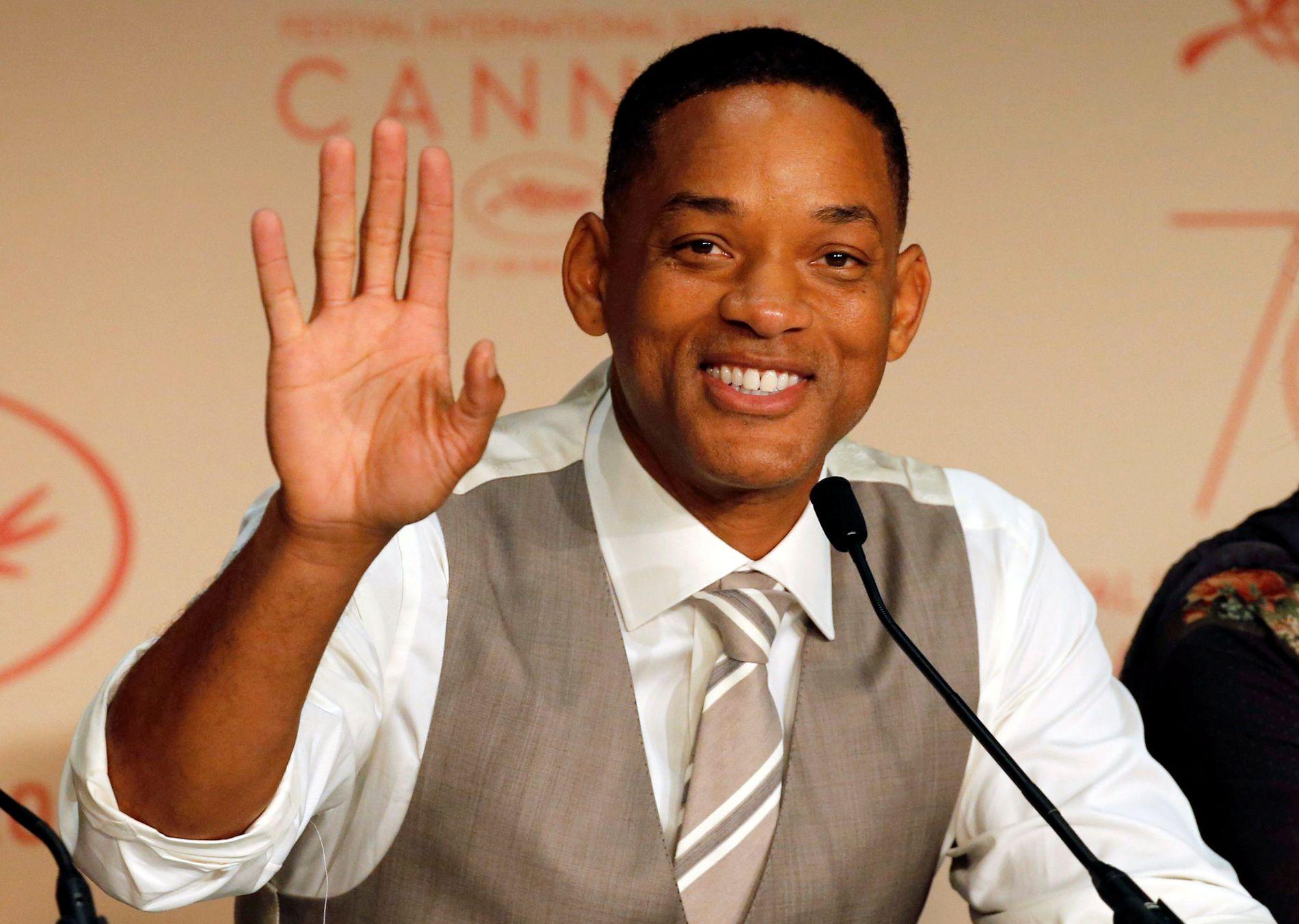 CANNES: Will Smith var i det spøkefulle lunet da han og resten av juryen traff verdenspressen i forbindelse med åpningen av filmfestivalen.