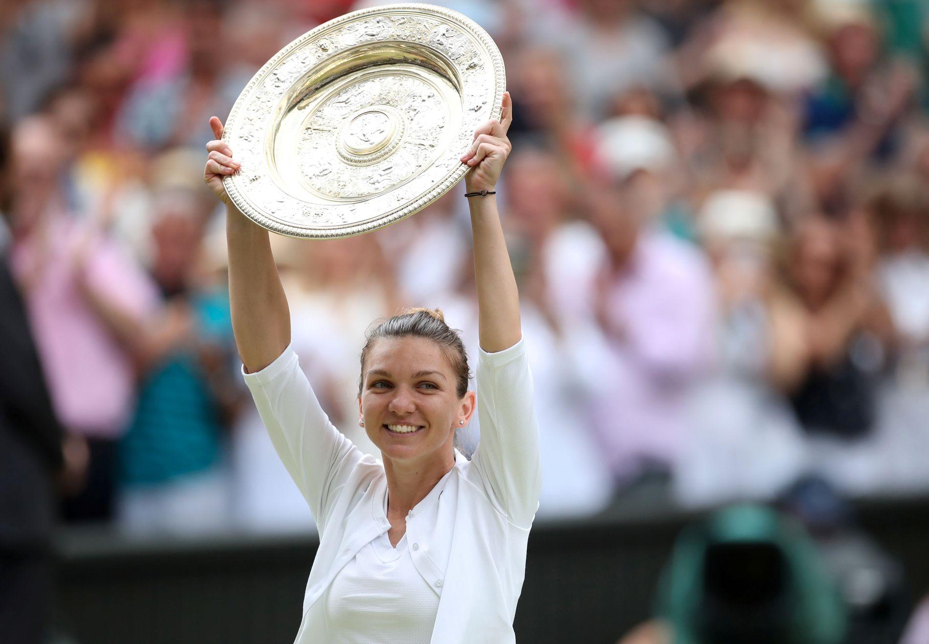 Simona Halep knuste Serena Williams. Det var rumeneres andre Grand Slam-tittel.