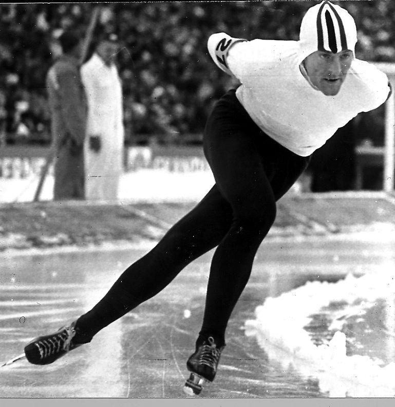 JEG TOK REVANSJ: Da svensken Johnny Høglin helt overraskende slo vår Fred Anton Maier (bildet) med tre tidels sekund på 10.000 meter i Grenoble.
