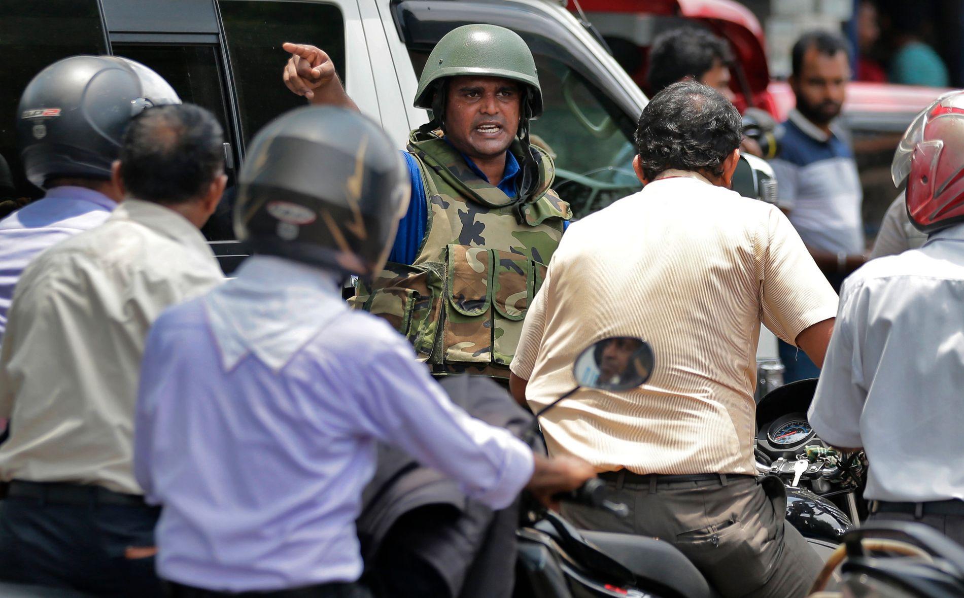 TERROR: Da det igjen smalt i Sri Lanka, var det mange som gjenopplevde den traumatiske borgerkrigen.