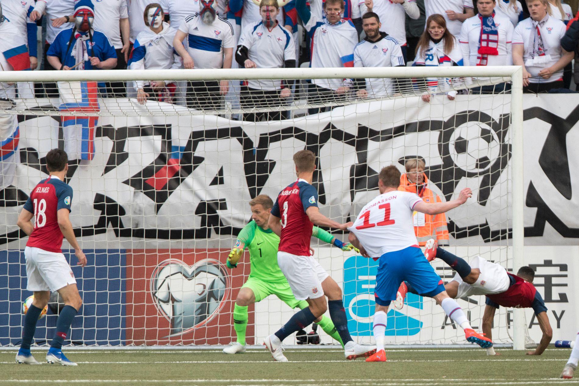 André Hansen fortsetter som vikar på det norske fotballandslaget. Foto: Terje Pedersen / NTB scanpix