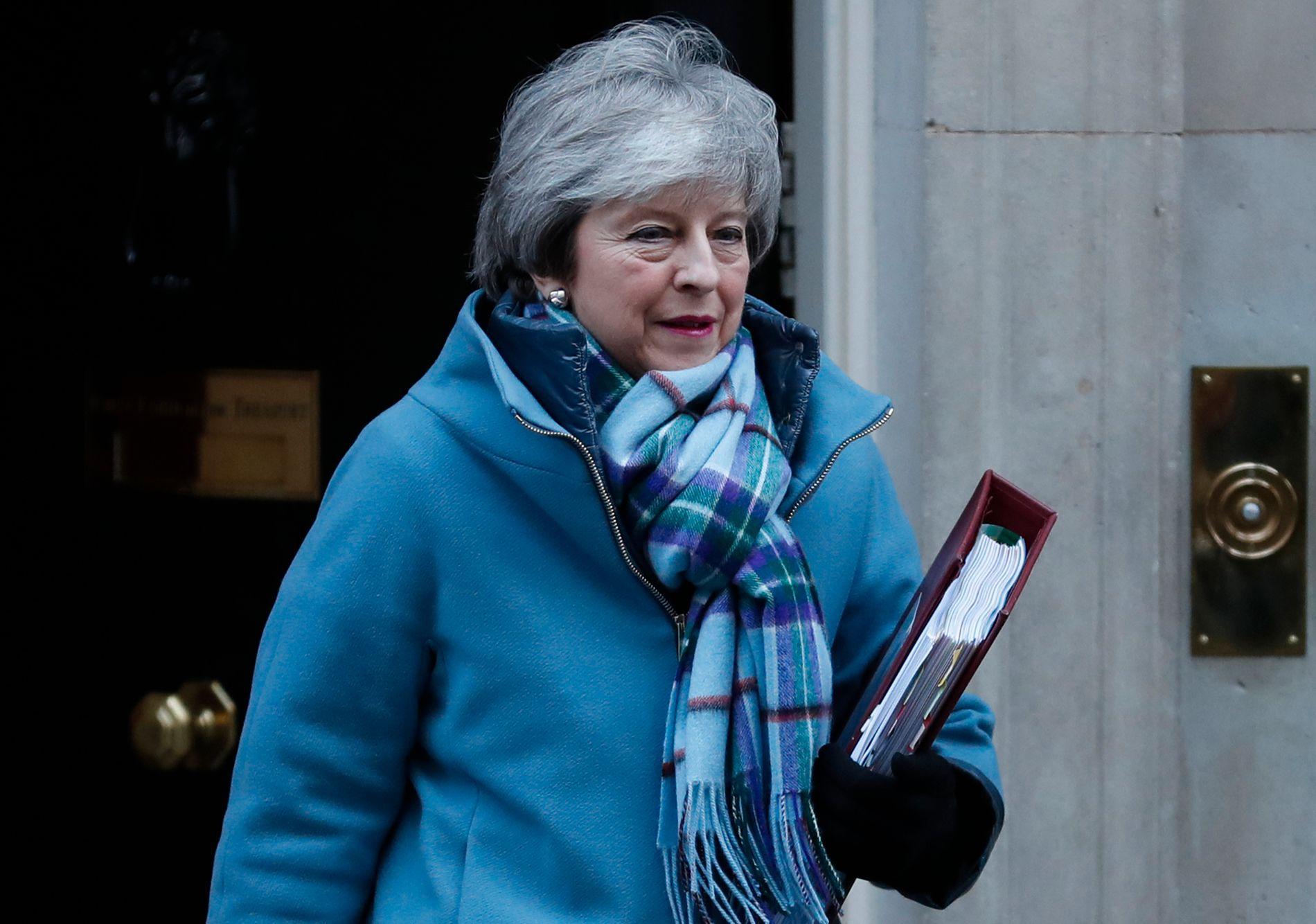 FORHANDLER: Theresa May sier hun ønsker en pragmatisk løsning når hun skal forsøke å forhandle frem en brexitavtale Underhuset kan akseptere.