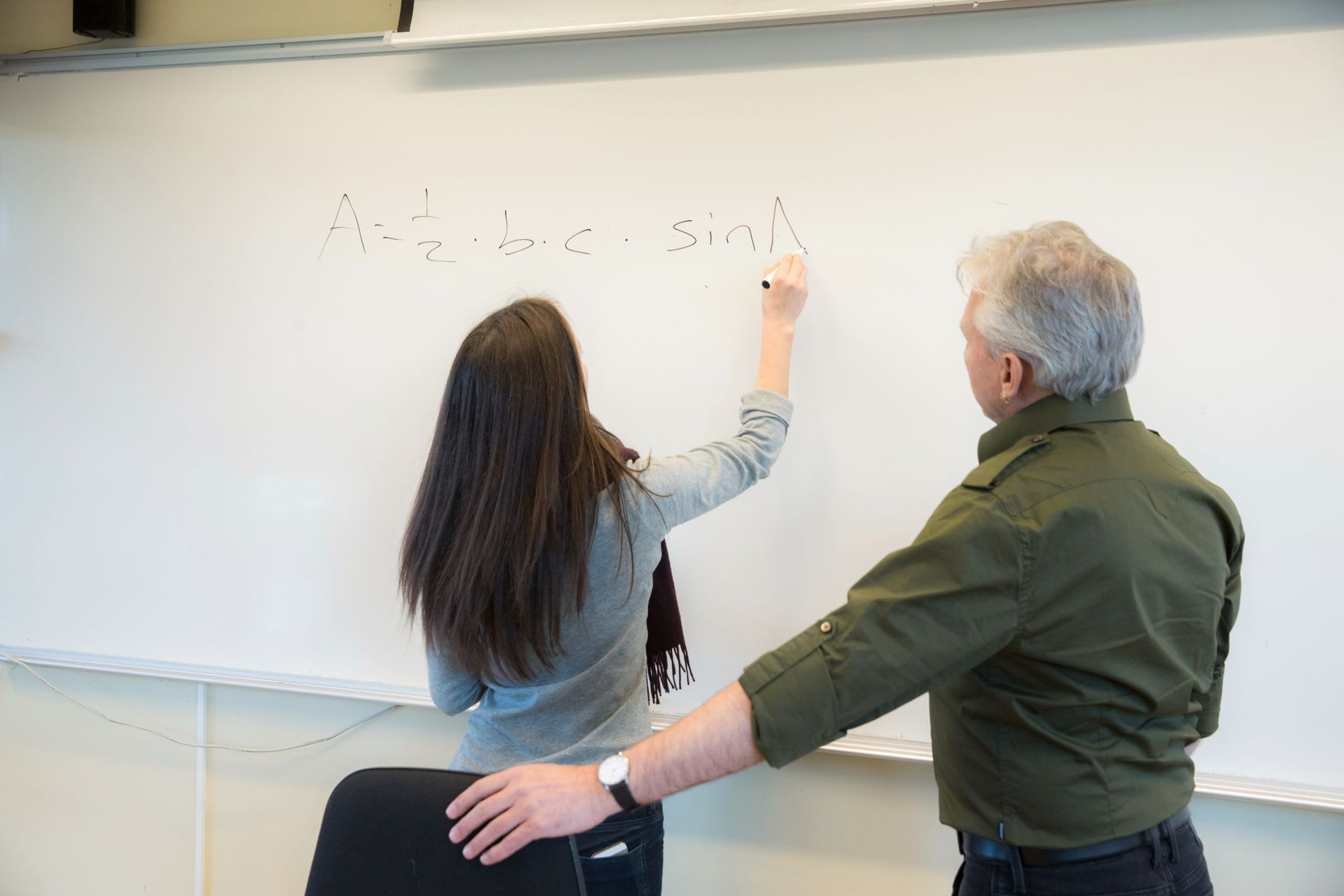 DISIPLIN: Jeg tror mange lærere sliter med disiplin, og fraværsgrensen har kanskje en symboleffekt en ikke skal kimse av, skriver Jan Ubøe.