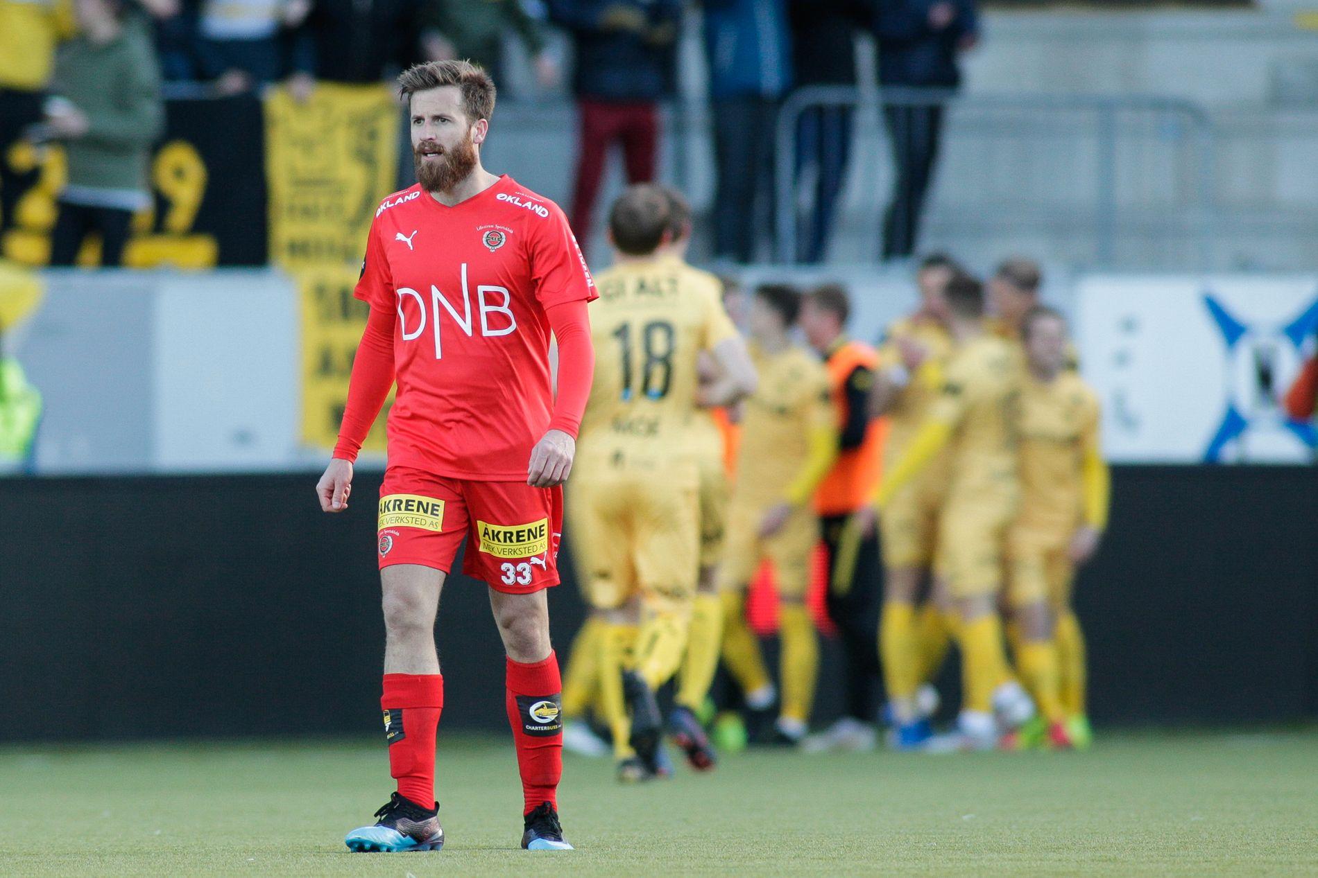Aleksander Melgalvis har fått en bot på 7500 kroner fra NFF. Foto: Mats Torbergsen / NTB scanpix