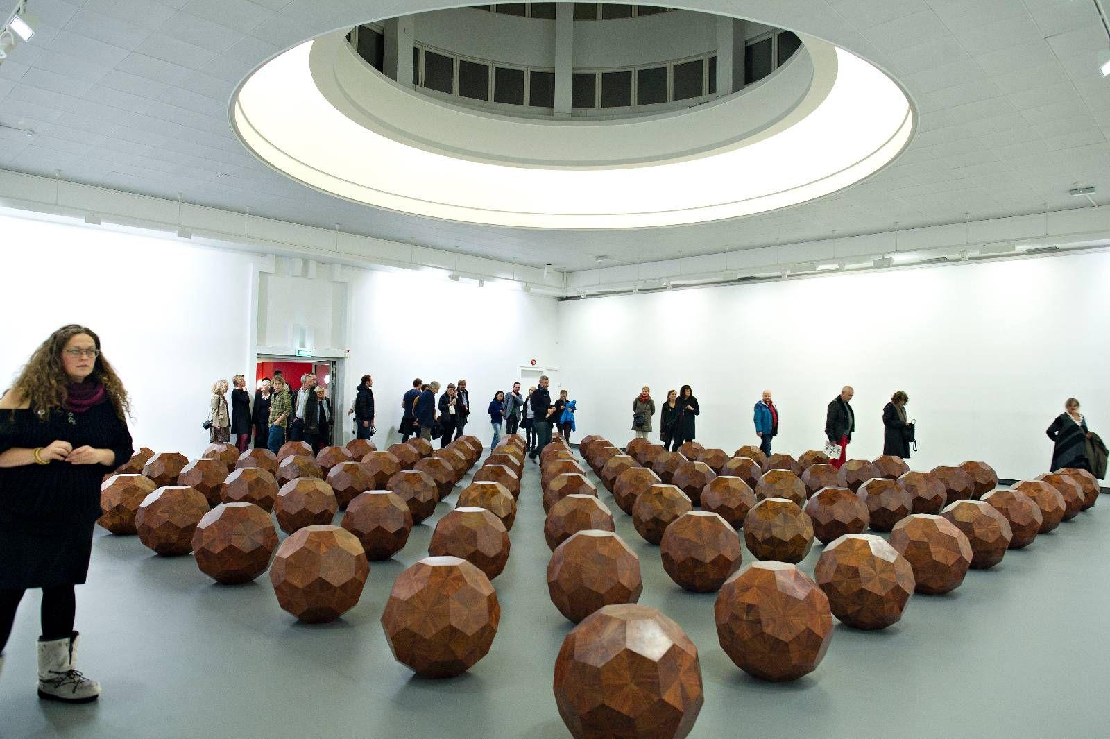 81 TREKULER FOR BERGEN: Verdenspremieren på Ai Weiweis installasjon i Bergen vakte oppsikt. Nå er utstillingen den var en del av belønnet med Kunstkritikerprisen.