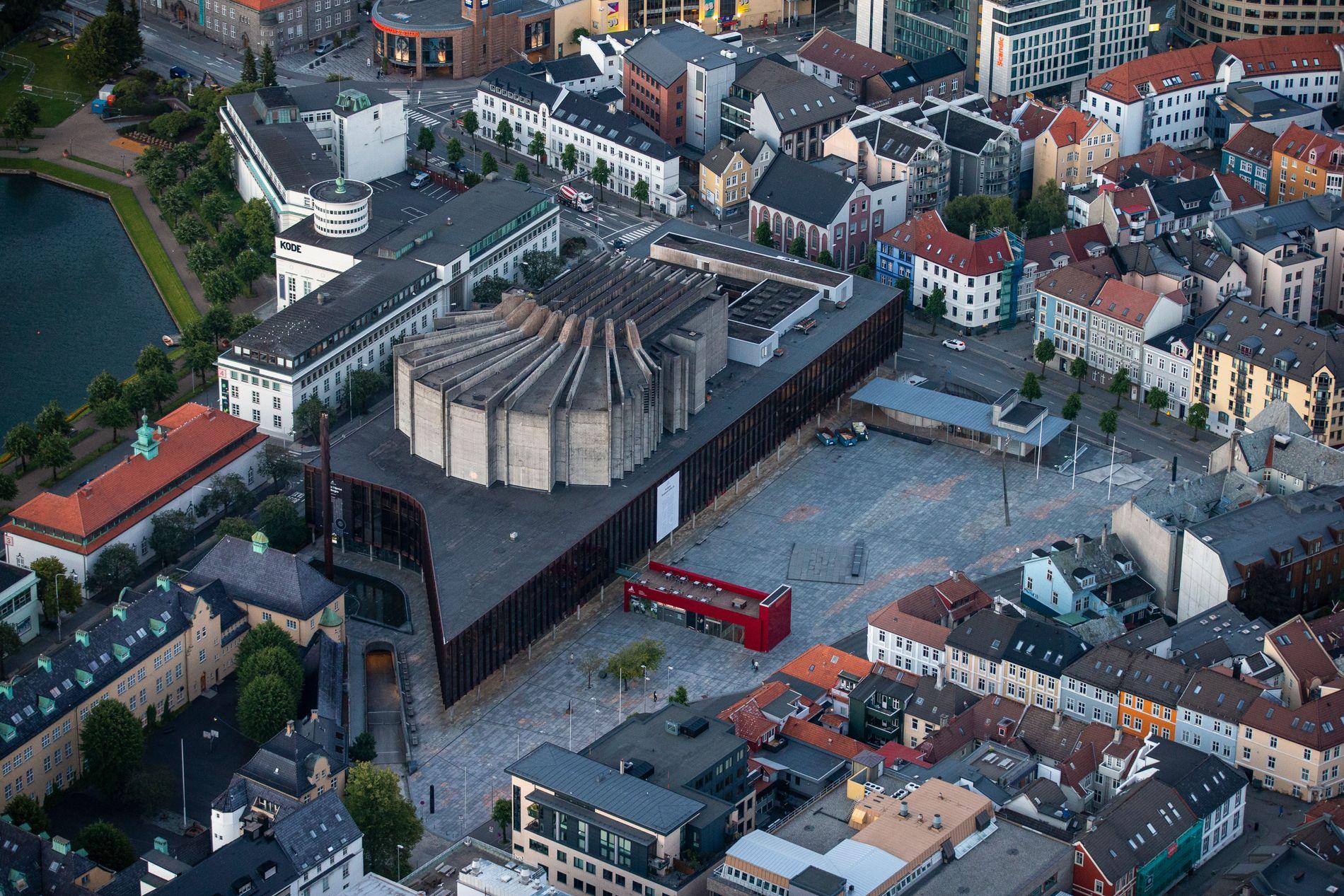 DRISTIG: Arkitekten bak Grieghallen, Knud Munk, ønsket egentlig også en kammerkonsertsal på Edvard Griegs plass, men det ble ikke noe av.
