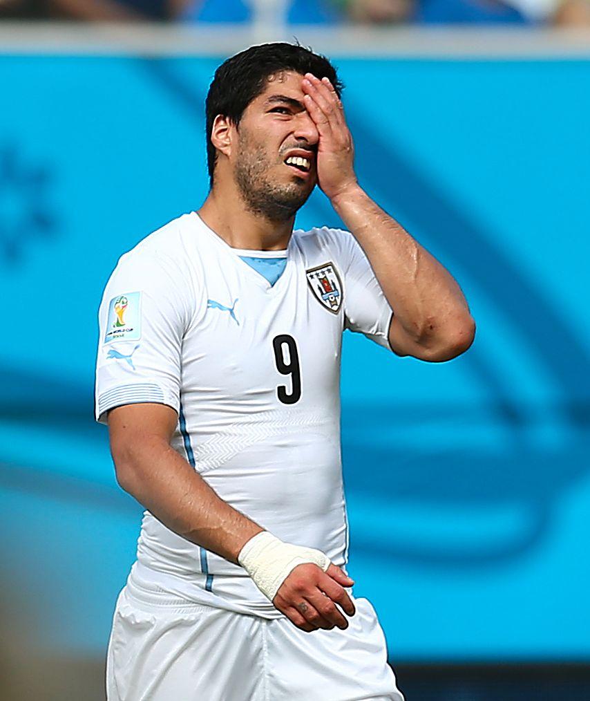 Luis Suarez er ikke blant de nominerte til Gullballen.