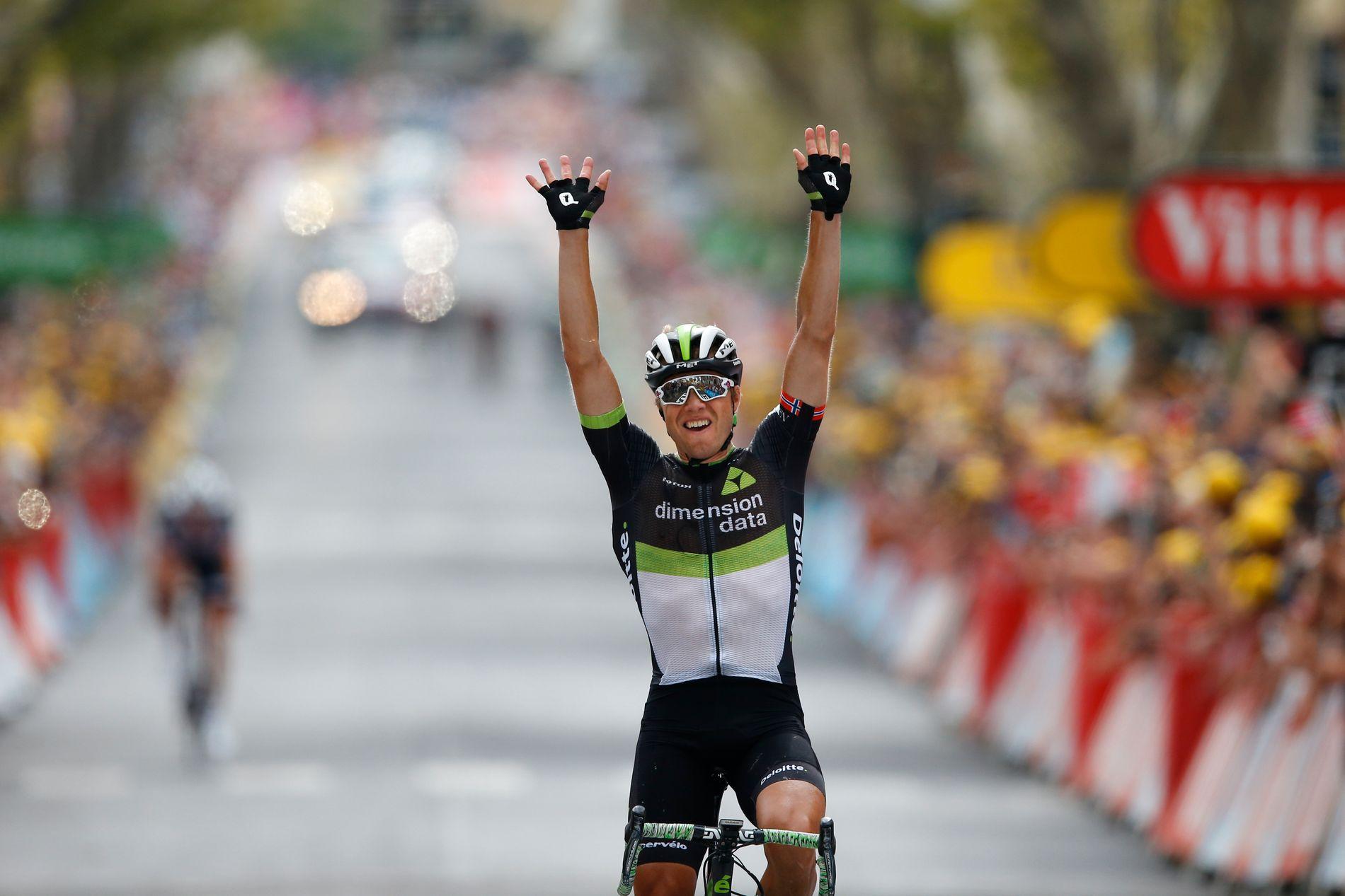 Edvald Boasson Hagen tok sin hittil siste etappeseier i Tour de France i 2017. Kan han ta en ny i år?
