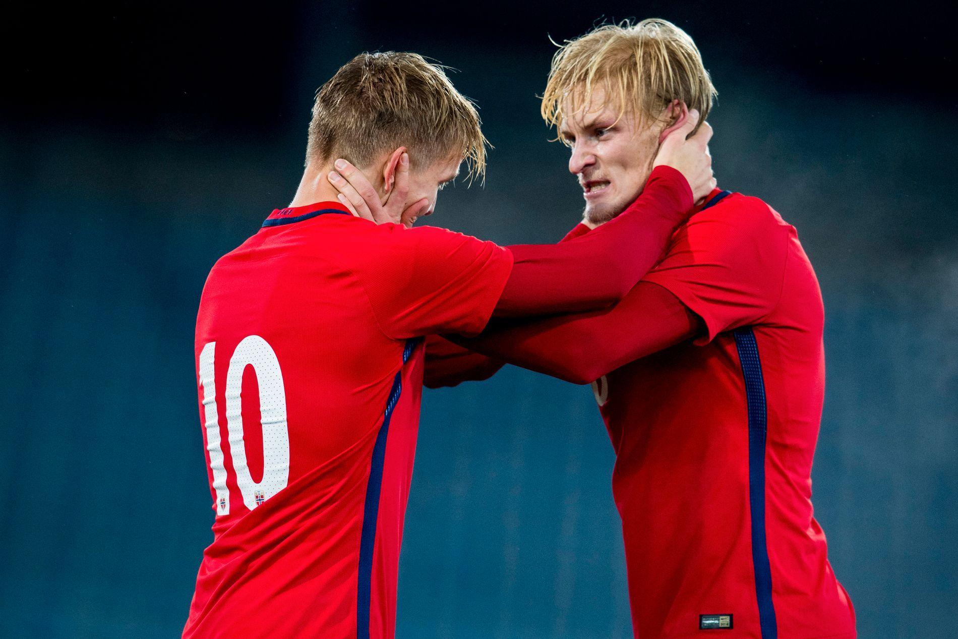 Martin Ødegaard og Morten Thorsby er blitt Heerenveens og Norges radarpar.