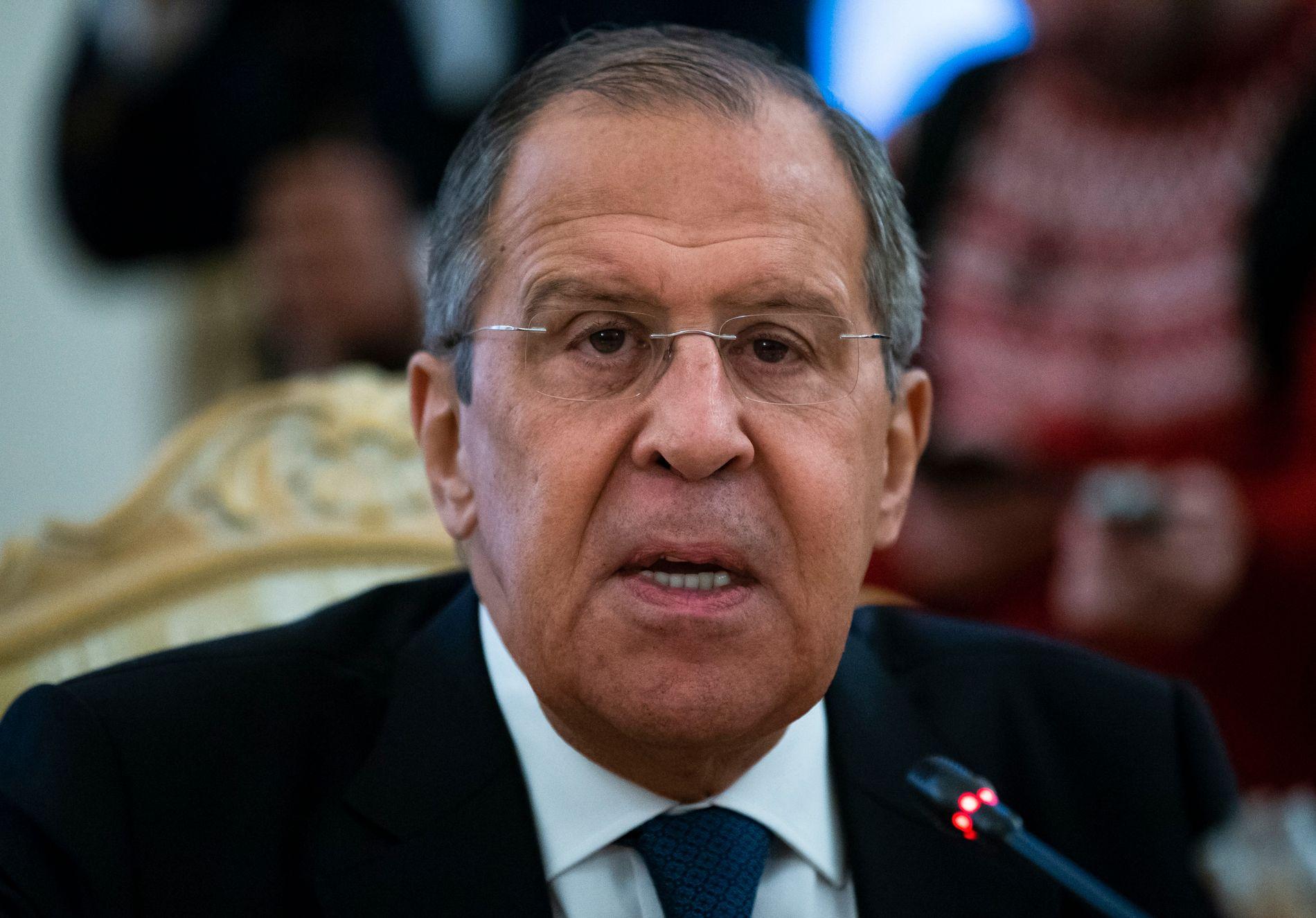 ENIGE: Russlands utenriksminister Sergej Lavrov sier det er inngått enighet om samarbeid mellom Tyrkia og Russland i Syria.