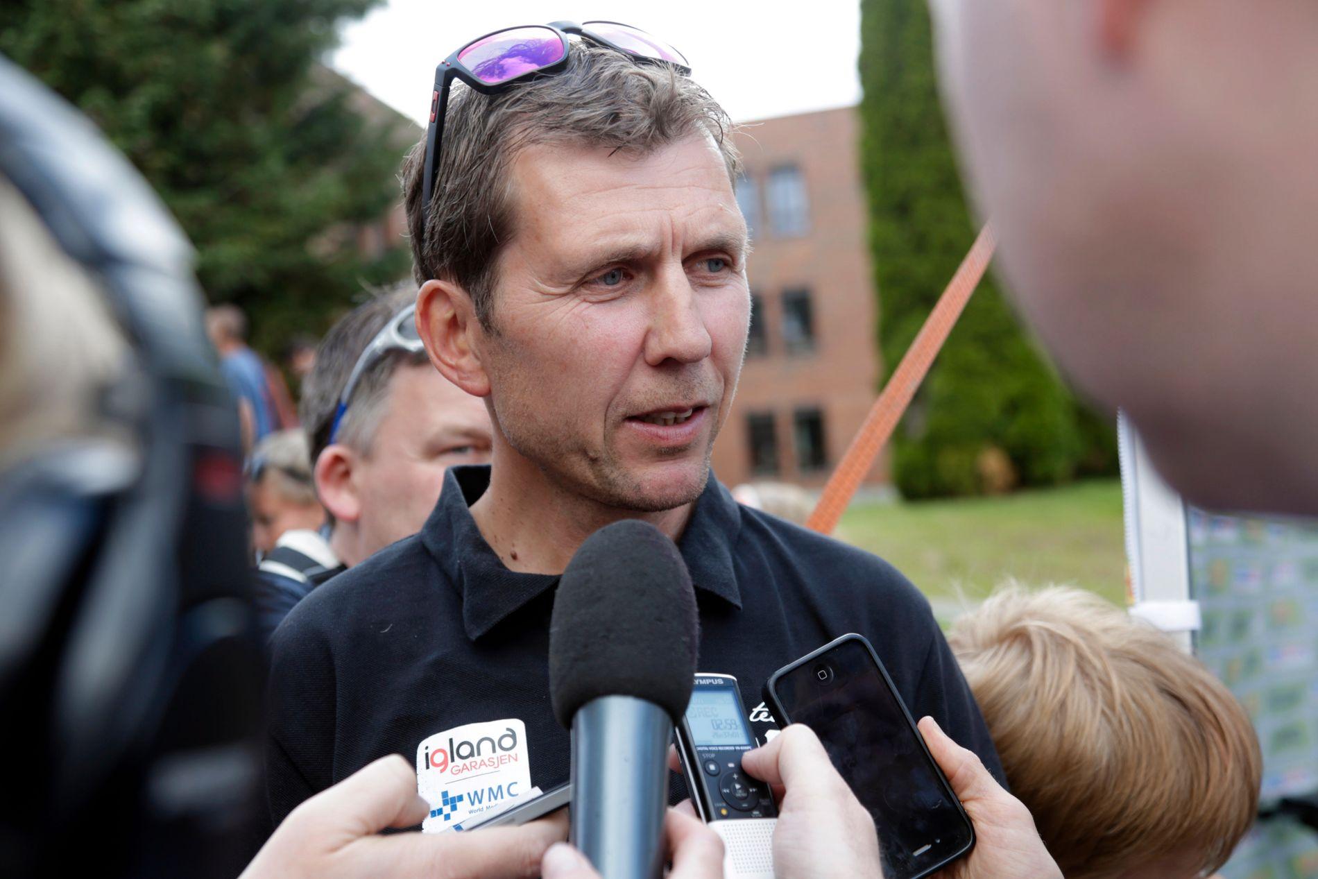 Atle Kvålsvoll har syklet Tour de France seks ganger. Han har tidligere vært Thor Hushovds trener.