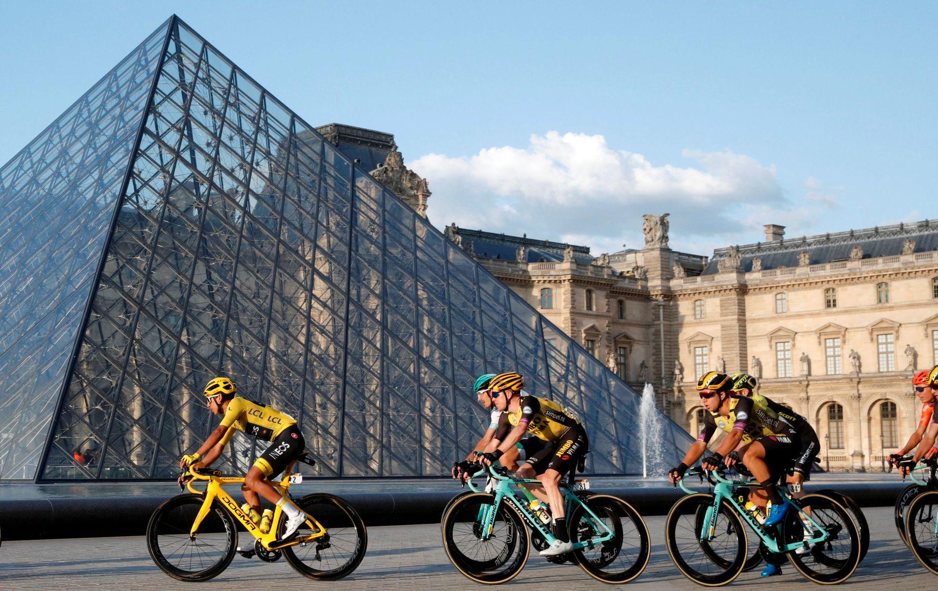 Tour de France ble avsluttet med siste etappe i Paris søndag.