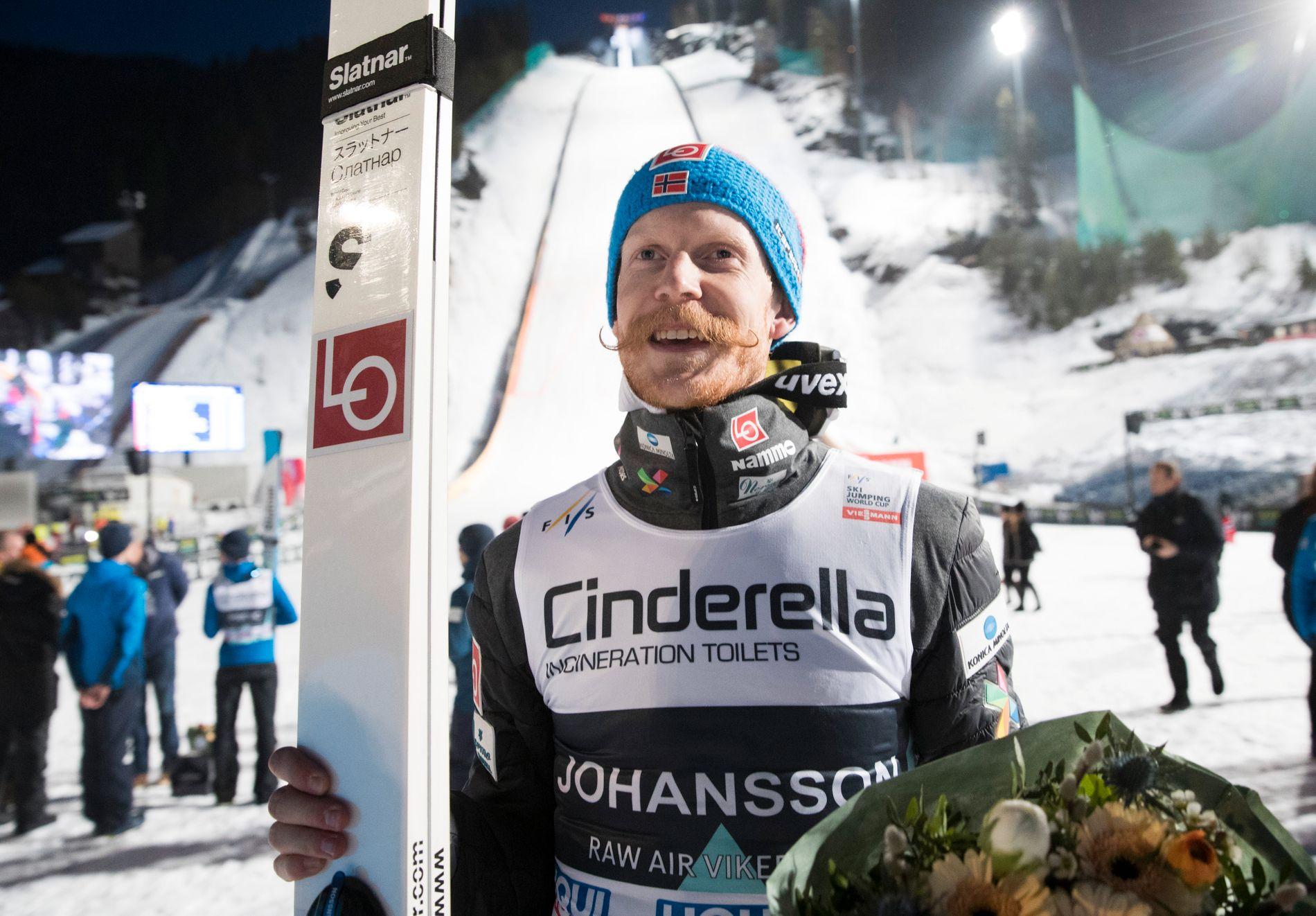Robert Johansson ble beste nordmann med 3. plass sammenlagt. I fjor kom han på 2. plass i Raw Air.