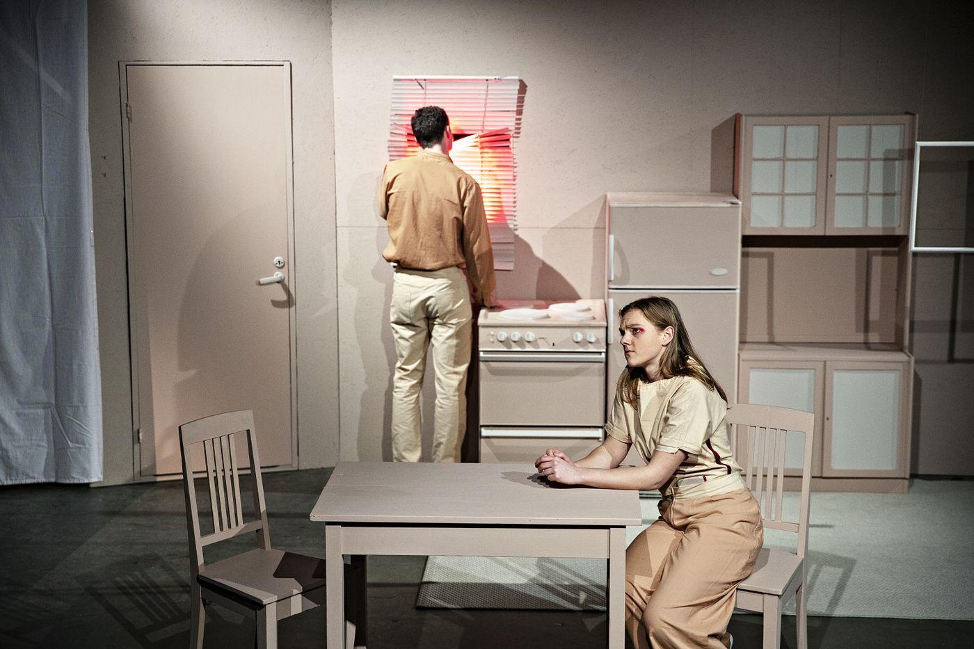 – STERKT: Skuespiller Ingeborg Meyer Lysne fra studentteateret Immaturus fikk knallros av BTs anmelder.