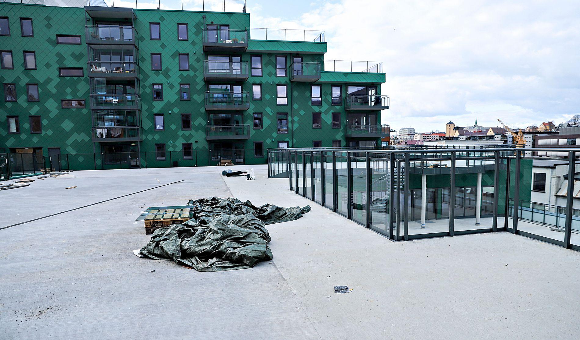 BARNEHAGE I DET BLÅ: Her skulle Damsgårdssundet FUS barnehage startet opp fra høsten, men har ikke fått godkjent tilskudd fra kommunen.