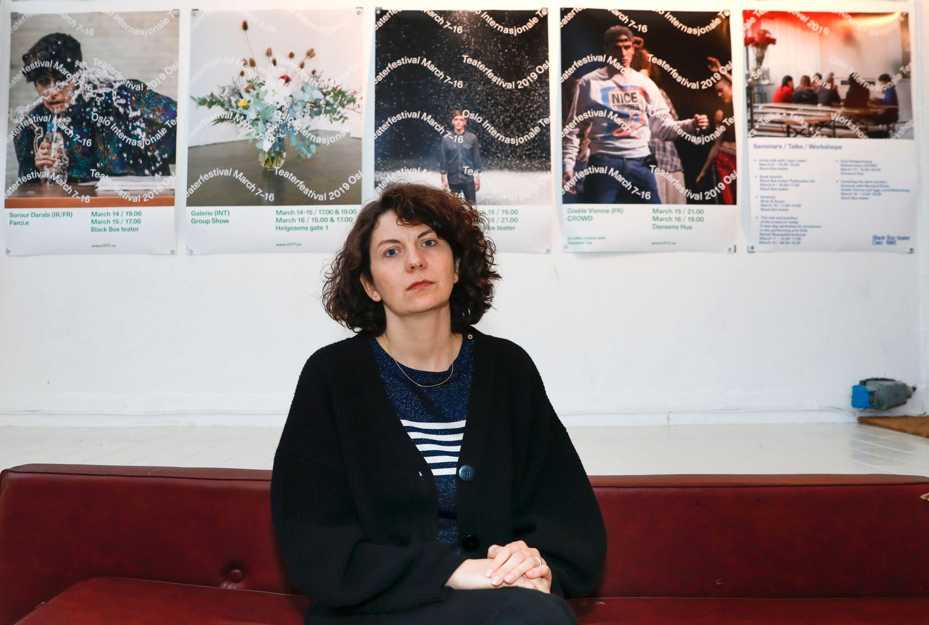 Teatersjef Anne-Cécile Sibué-Birkeland ved Black Box er blant de fire siktede.