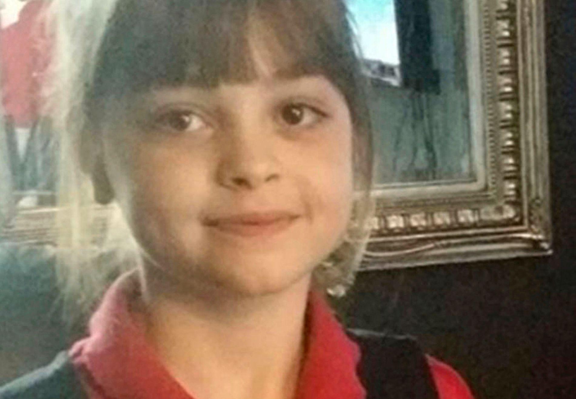 OFFER: Saffie Rose Roussos (8) ble drept i terrorangrepet i Manchester.