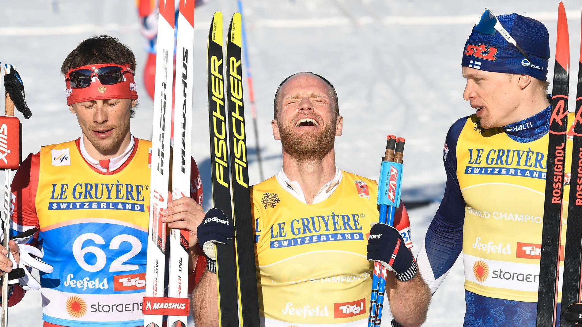 Det gikk til slutt for Martin Johnsrud Sundby. Ti år etter sitt første mesterskap, i tsjekkiske Liberec.