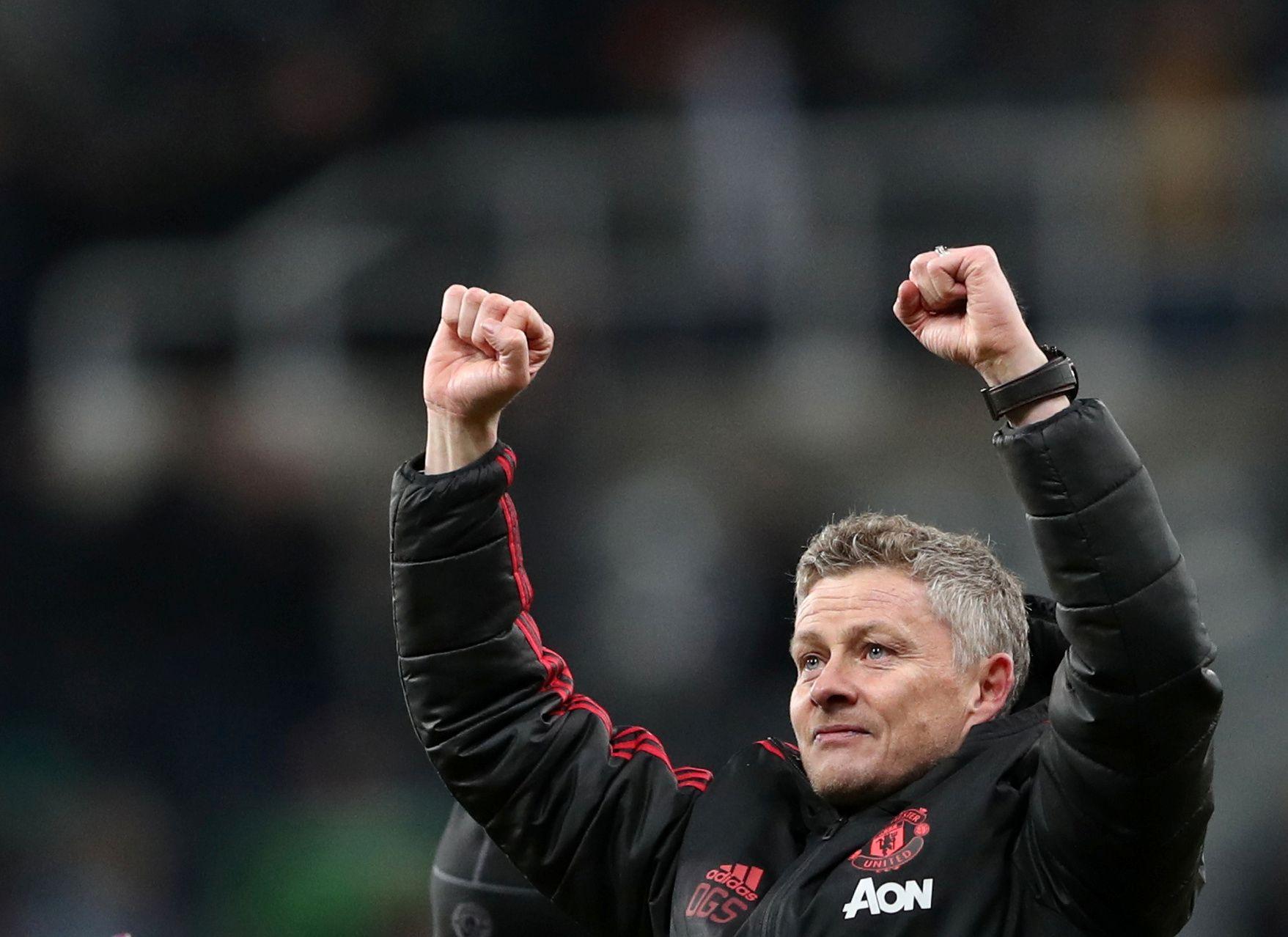 Ole Gunnar Solskjær fikk nok en seier som Manchester United-manager.