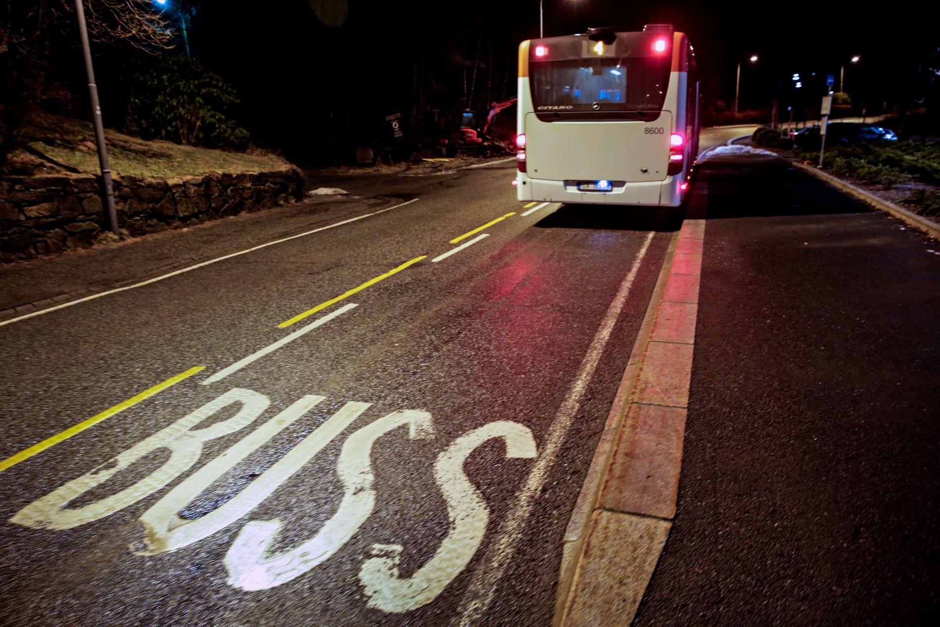 Jeg så bare bakruten på bussen da jeg kom på busstoppet, skriver Christian Nome Lepsøe.