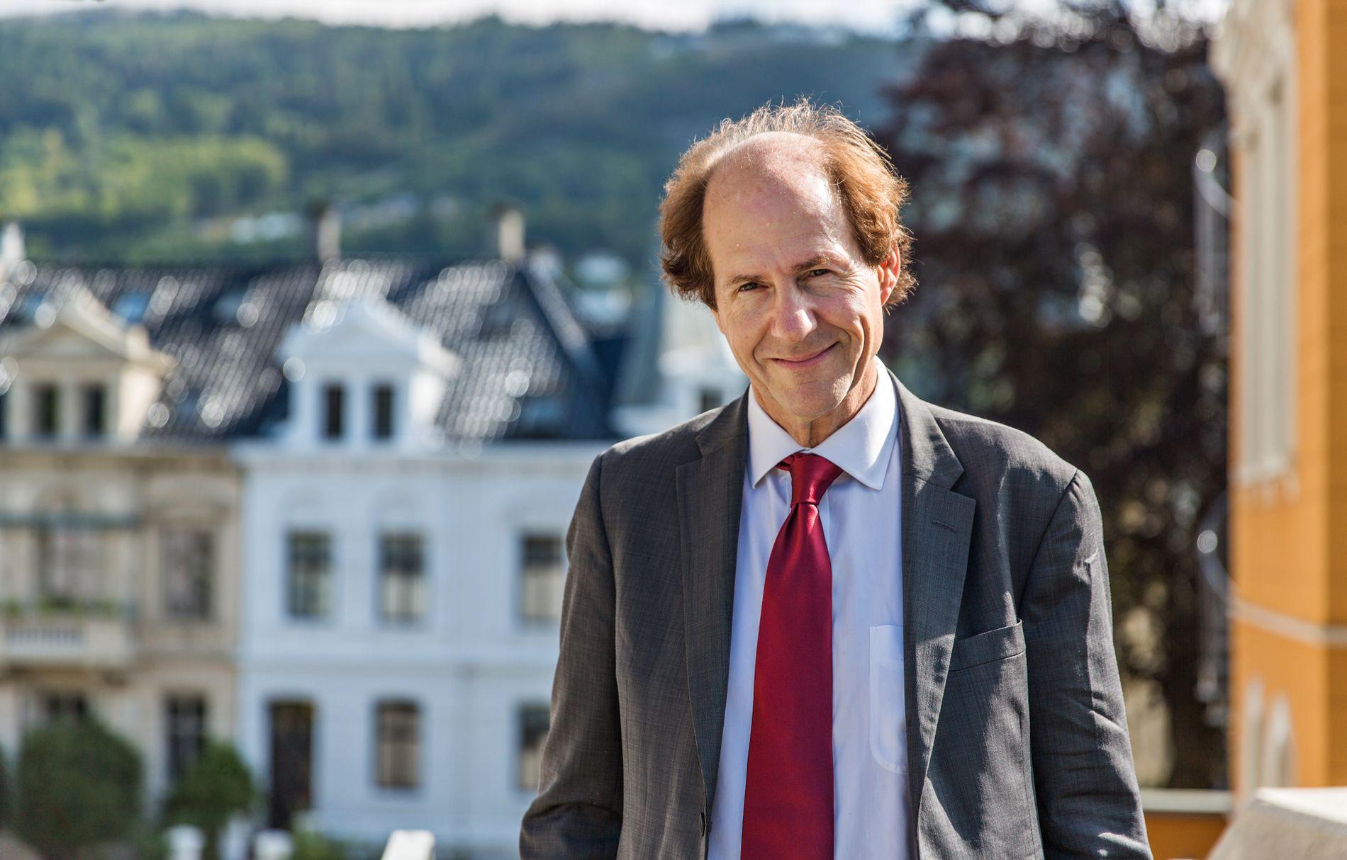 ALLSIDIG: Den amerikanske juristen Cass R. Sunstein får i dag Holbergprisen for sitt arbeid innen statsrett og demokratiteori, rettsvitenskap, atferdsøkonomi og offentlig politikk, forvaltningsrett og risikoregulering.