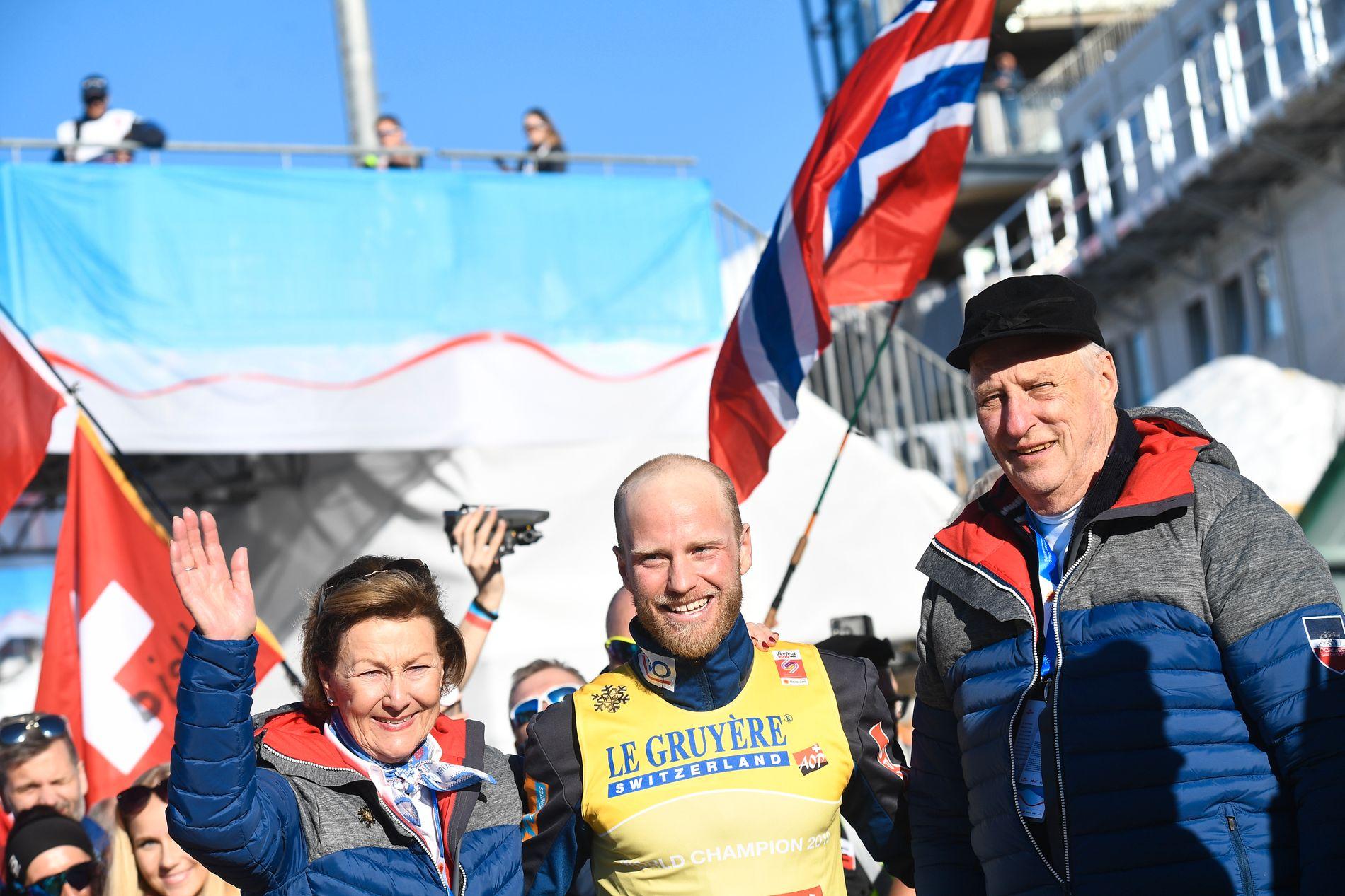 Kongelig besøk for Sundby etter gullet.