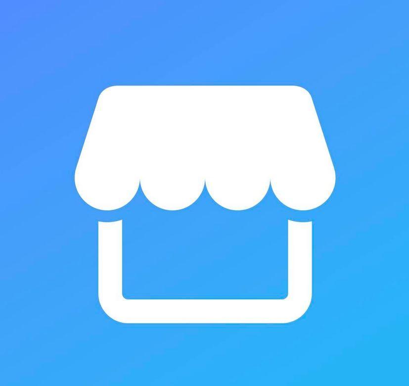 LOGO: Slik ser Marketplace-logoen ut. FOTO: Facebook
