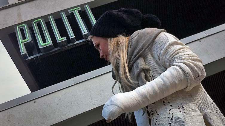 SLÅTT NED I BERGEN: Ulrikke Lund (21) ble slått ned utenfor Felice natt til fredag.
