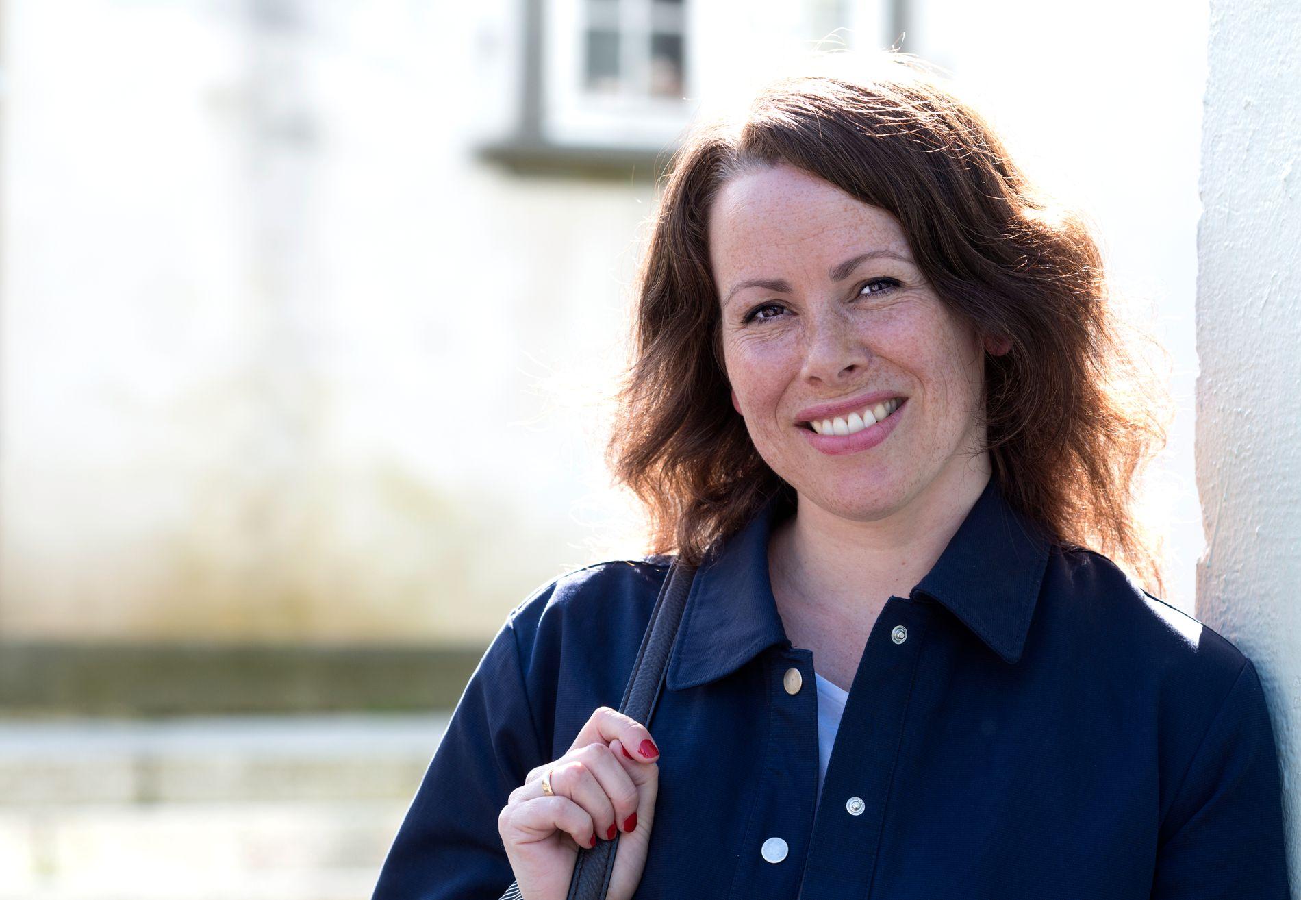 FORFATTERFEST: Bergensforfatteren Gunnhild Øyehaug er blant dem som skal ilden under årets utgave av Forfattersleppet