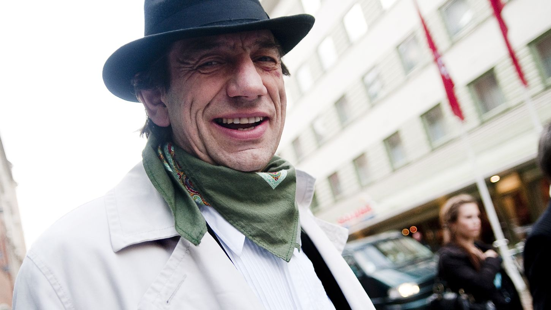 STERK: Helge Jordal husker Wenche Foss som en tøff dame. FOTO: