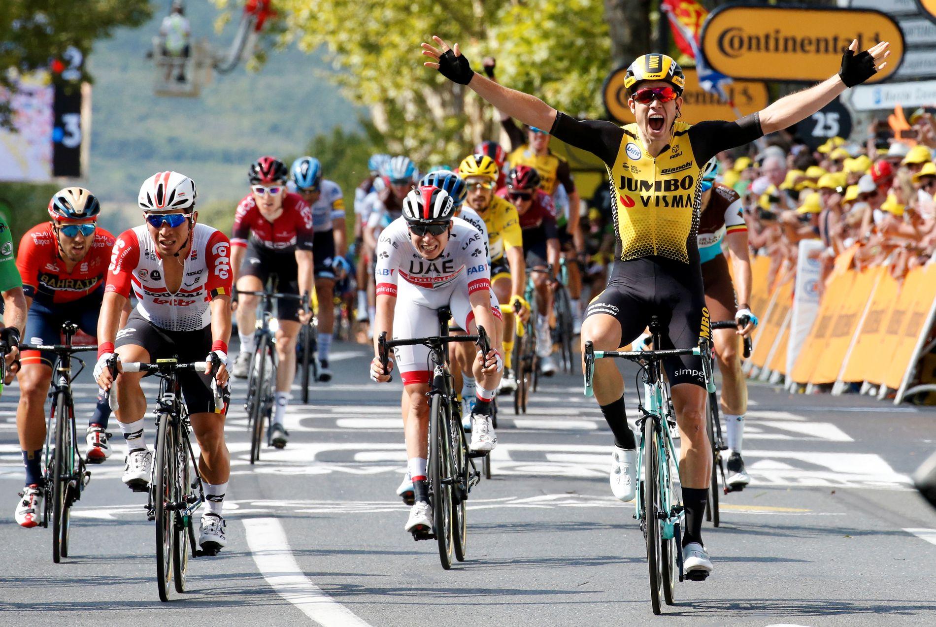 Wout van Aert vant én etappe under årets Tour de France, før han måtte bryte rittet.