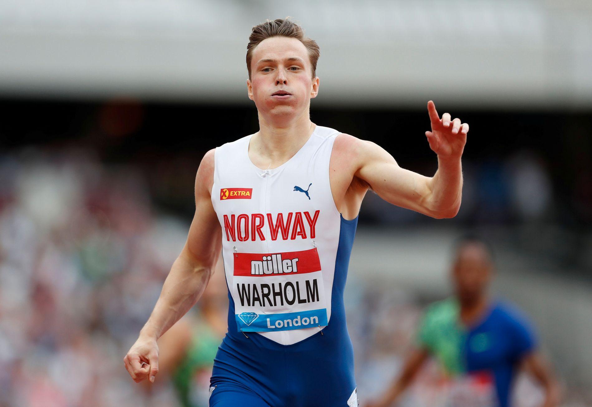 Karsten Warholm har imponert stort denne sesongen. I september starter VM i Doha.