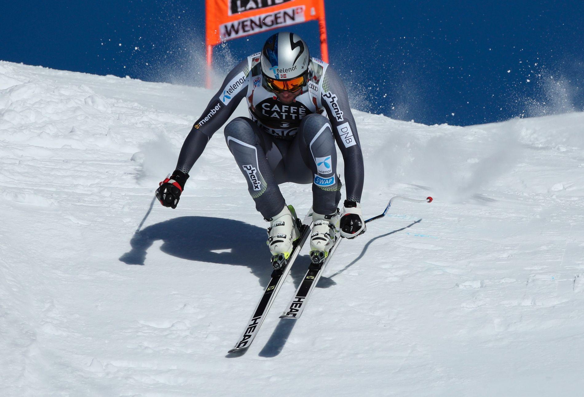 Aksel Lund Svindal ble nummer fire i Wengen sist helg, nå er rennene i Kitzbühel i fare for nordmannen.