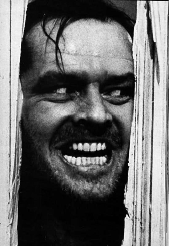 JACK HILSER: Cinemateket viser mesterverket «The Shining» torsdag og søndag.