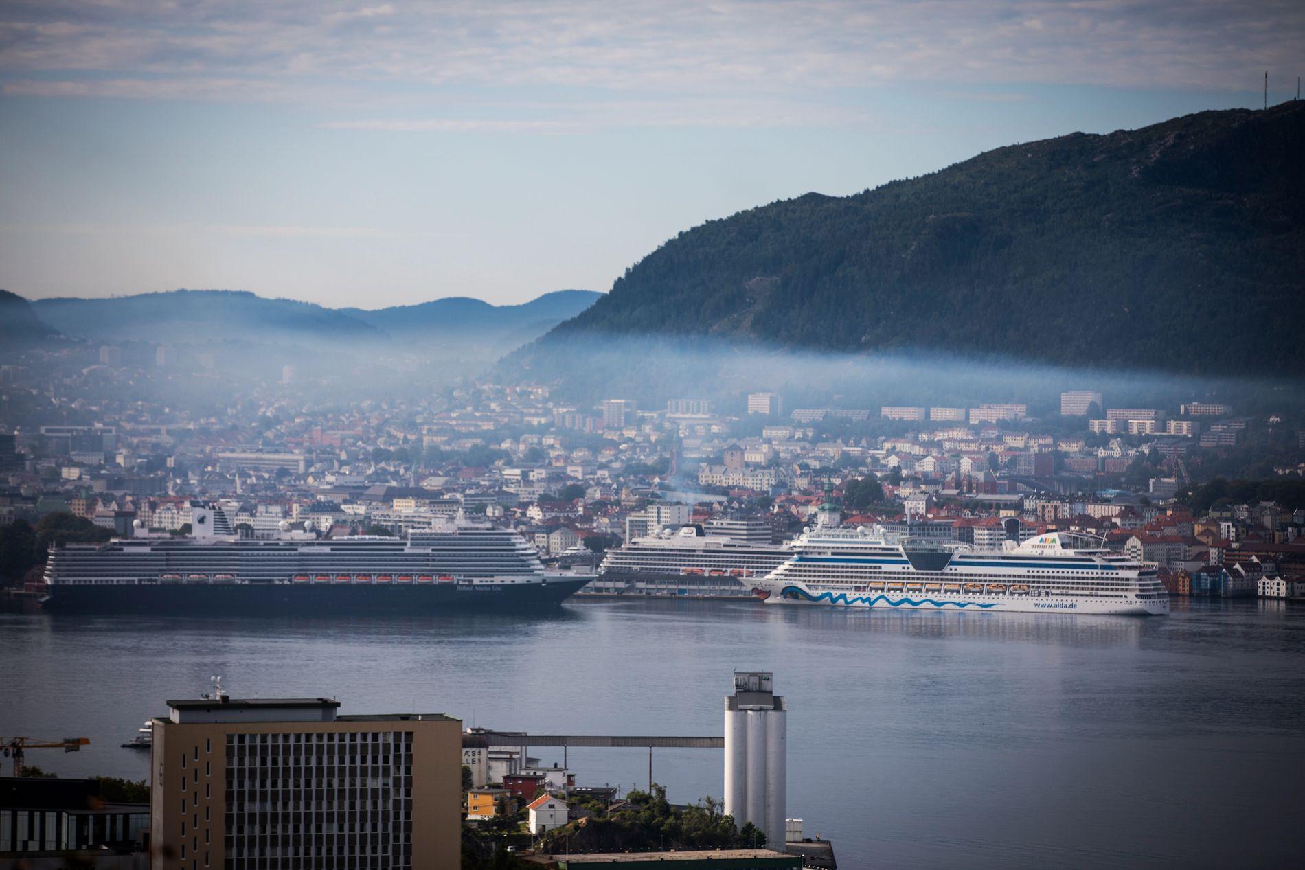 TEPPE AV EKSOS: Innsatsen for å grønnvaske norske fjorder har tatt seg opp på kort tid, mener BT
