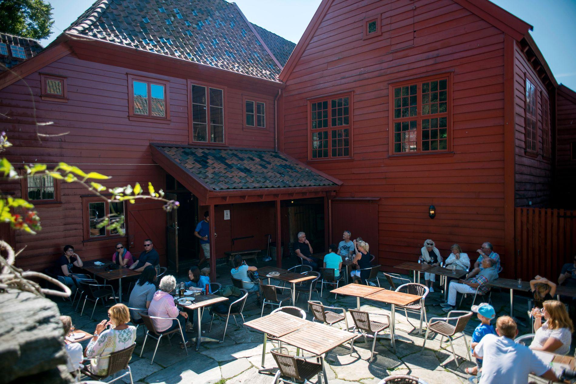 GAMMELT BYGG: «Traktørstedet» ligger i det som opprinnelig var Svensgårdens schøtstue, oppført i 1708.
