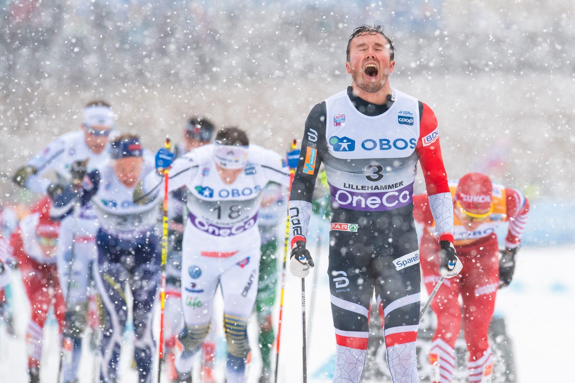 Emil Iversen spurtet inn til tredjeplass.