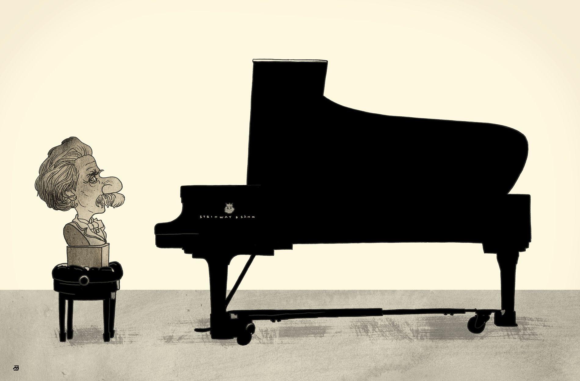 GRIEG OG BERGEN: Utfordringen er å unngå at Grieg blir redusert til pynt og porselen, et Spotify-spor til lokalpatriotismen vår, en klisje, skriver Frode Bjerkestrand.