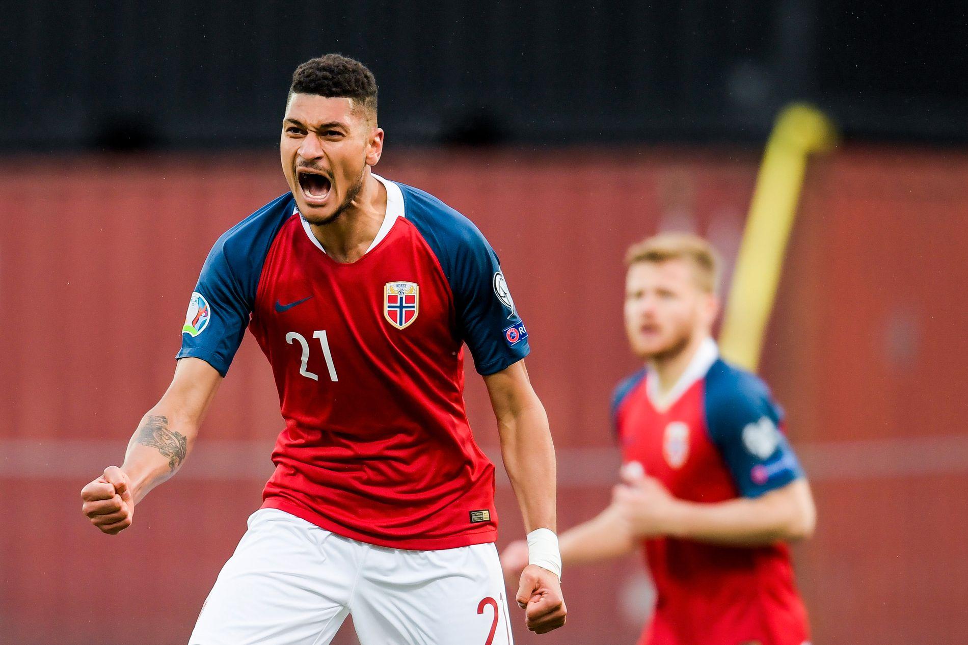 2–0-målet mot Færøyene så ut til å bety mye for spissen.
