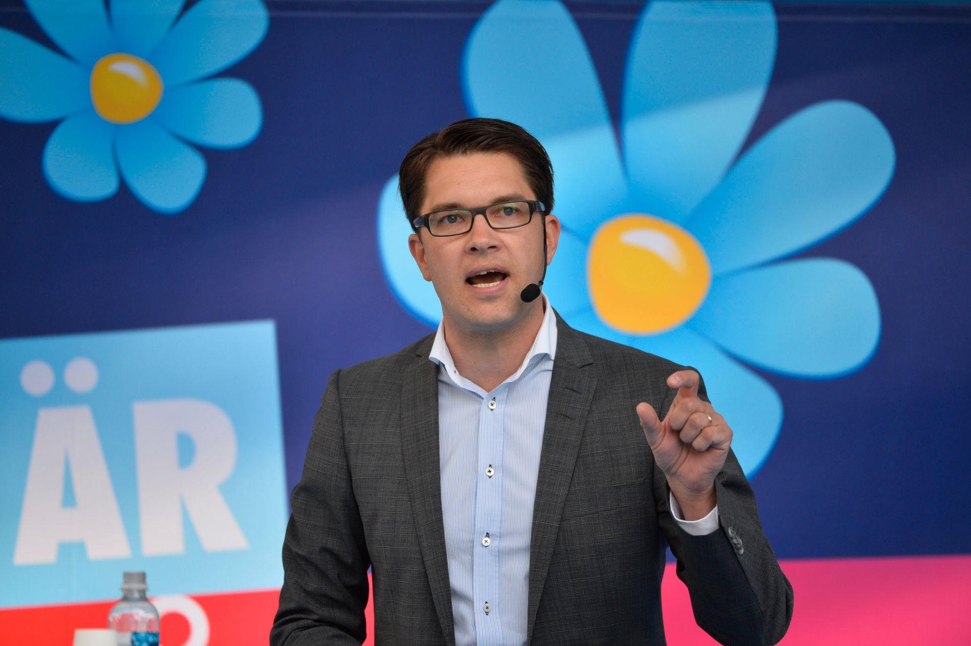 SPEDALSK: Ingen partier vil samarbeide med Jimmie Åkessons Sverigedemokraterna (SD). Det gir et uforutsigbart politisk klima i Sverige.