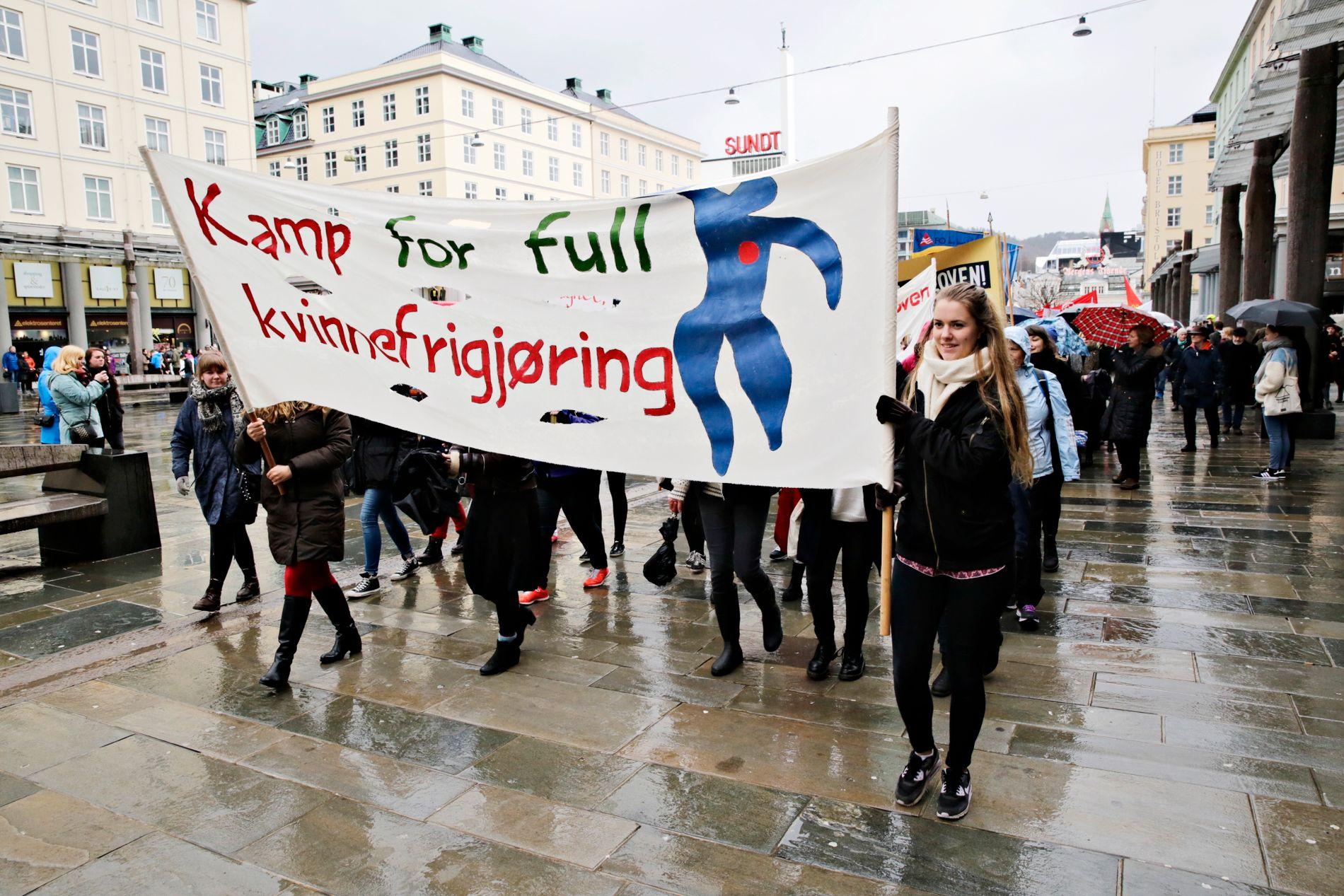 KVINNESAK: Eikefjord spør hva som er kvinnesak. Vårt svar er all politikk, skriver Feministisk initiativ. ARKIVFOTO: Ørjan Deisz