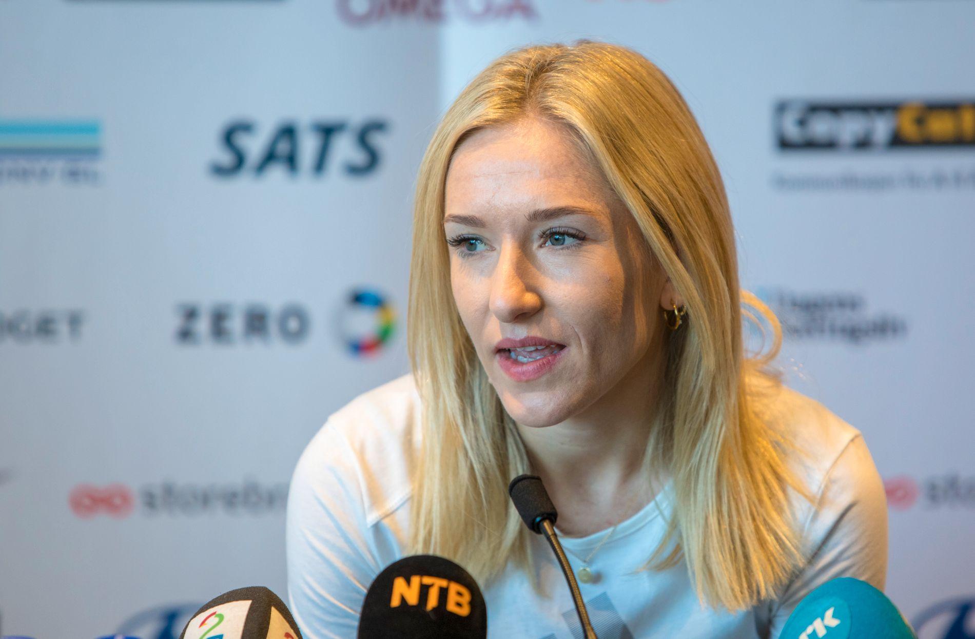 Karoline Bjerkeli Grøvdal har vært skadeplaget i vårsesongen og er spent på formen før Bislett Games.