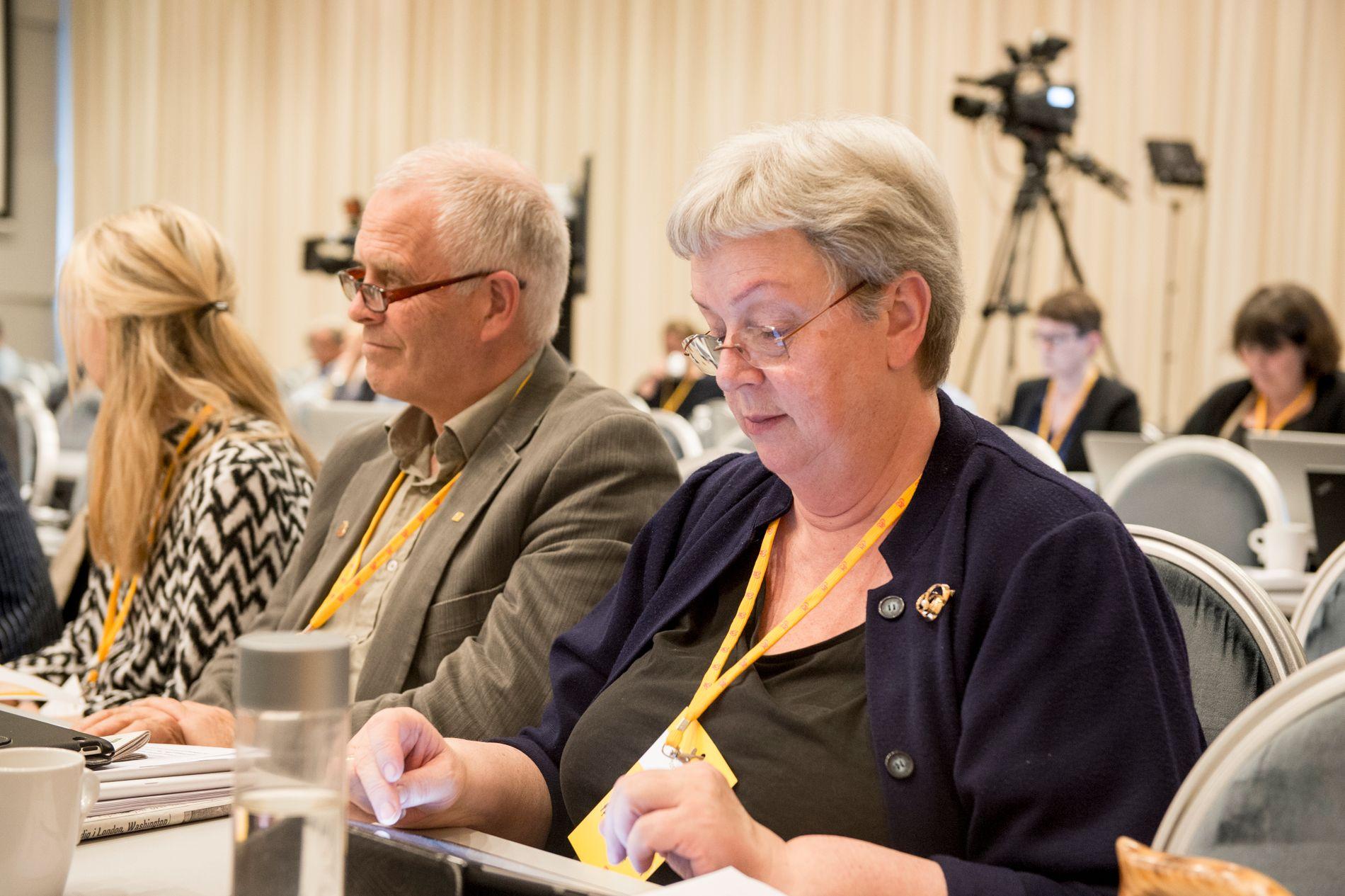 NAVNESJEF: Torhild Bransdal, kommunalpolitisk talsperson i KrF, ønsker ikke en ny diskusjon om hva de nye fylkene skal hete.