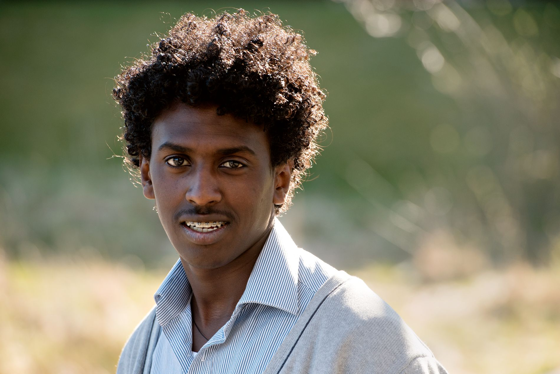 Dawit kom fra Eritrea i 2015.