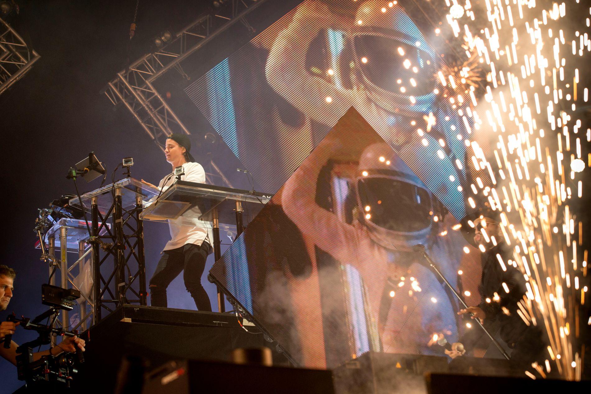 KOENGEN: Kygo satte fyr på Bergen under Cloud 9-festivalen på Koengen i august.