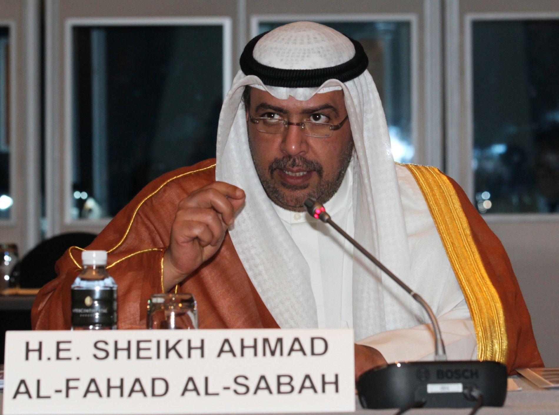 Sjeik Ahmad Al-Fahad Al-Sabah.
