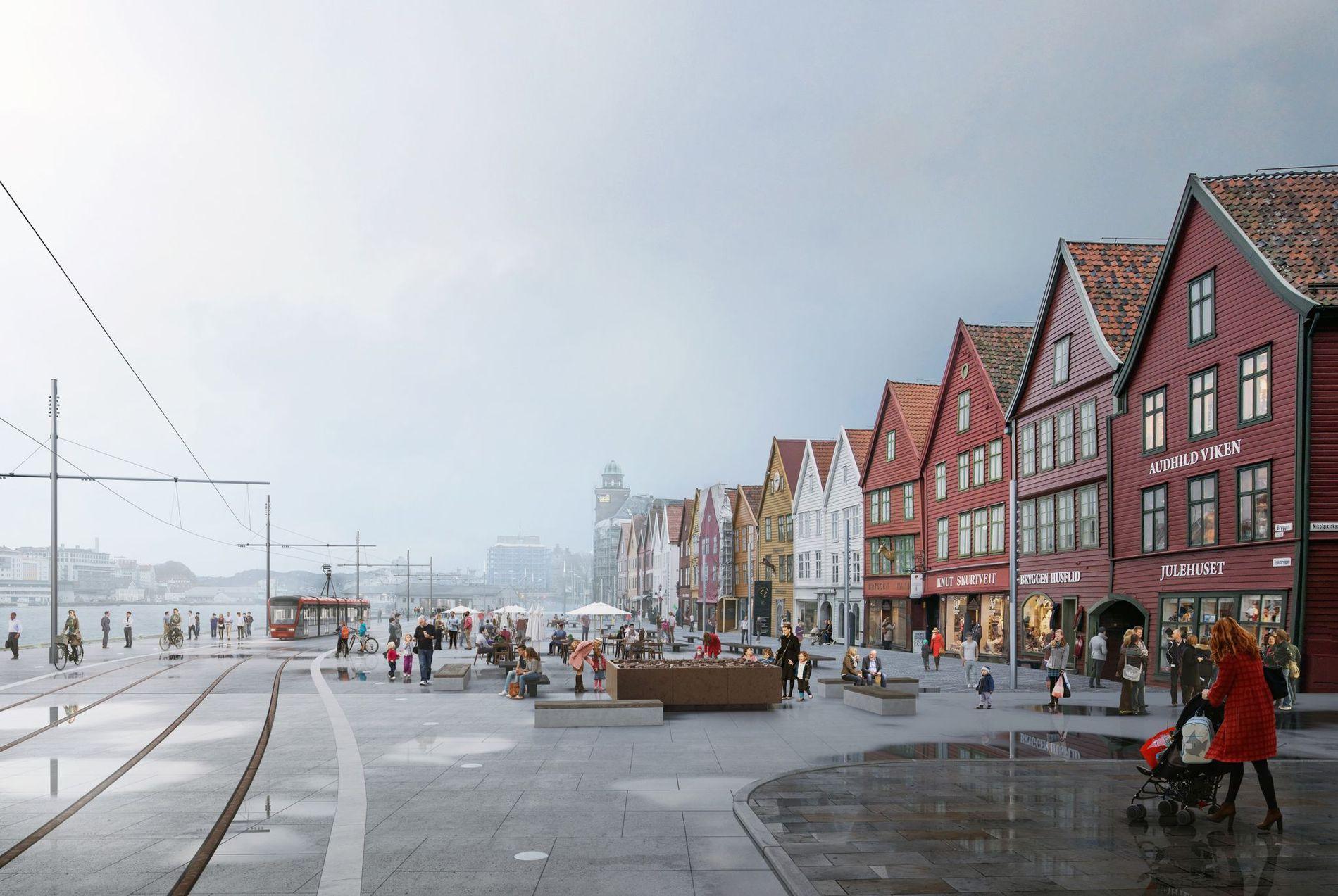 BYBANEN: Det finnes ikke noe tunnelalternativ til dagløsning over Bryggen. En bymiljøtunnel i sentrum kommer aldri til å bli bygget, skriver Eirik Glambæk Bøe.